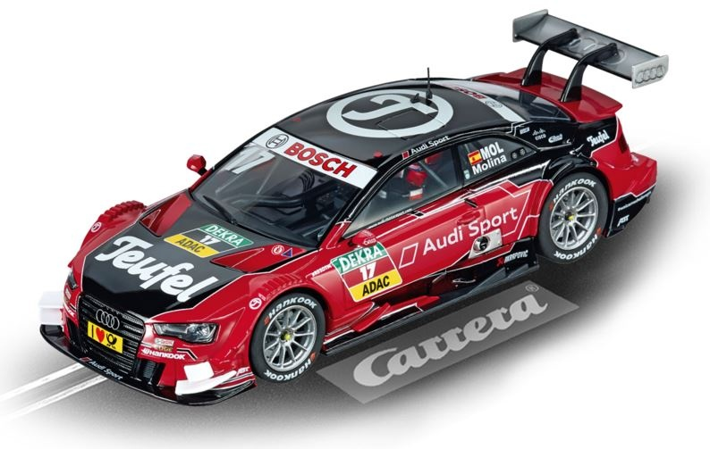 Carrera Digital 132 Audi A5 DTM M.Molina,No.17