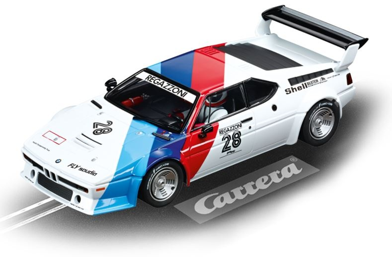Carrera Digital 124 BMW M1 Procar Regazzoni No.28, 1979