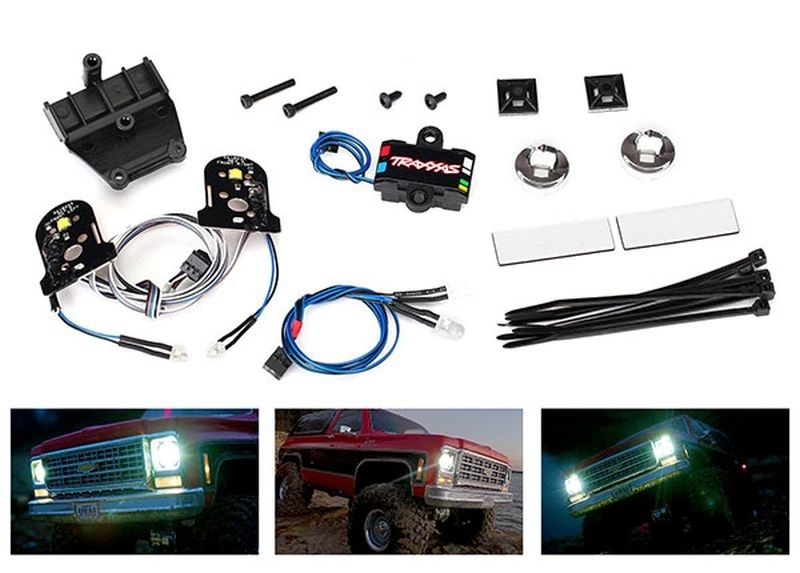 Traxxas LED Licht-Set ohne POWER SUPPLY für 8130 Karo