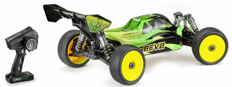 Absima EP Buggy TR8EV2 4WD Brushless 2.4GHz RTR 1:8