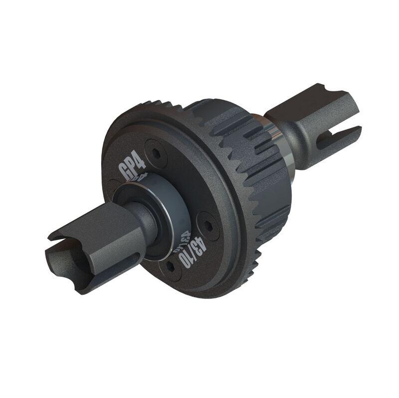 Arrma Active F/R Diff Set, GP4 5mm 10k (ARA310990)