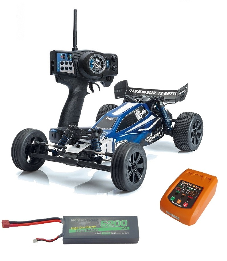 LRP S10 Twister 2 2WD BL Buggy 2.4GHz RTR 1:10 -SPARSET-