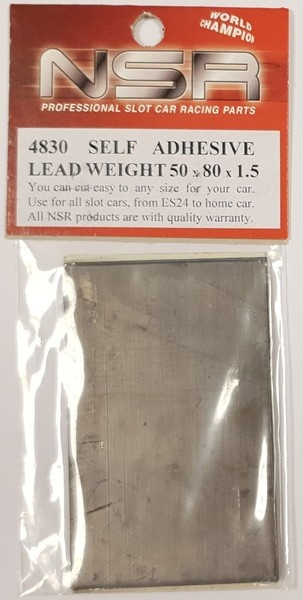 NSR Self adhesive weight 50x80x1.5mm /