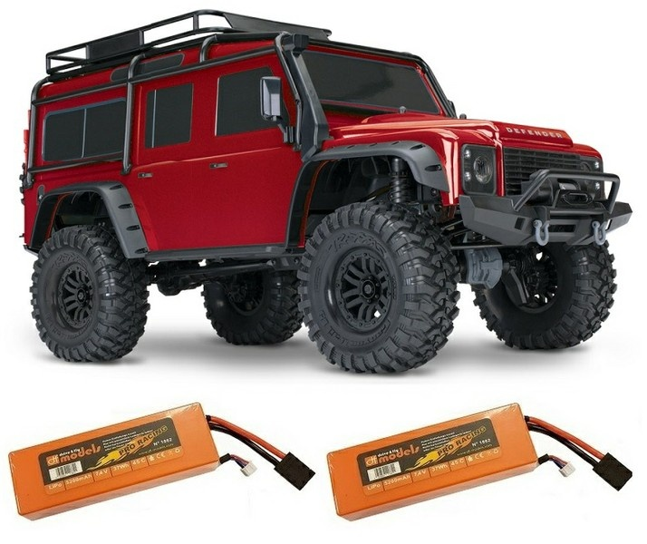 Traxxas TRX-4 Scale and Trail 4WDCrawler TQi 2.4GHz RTR 1:10