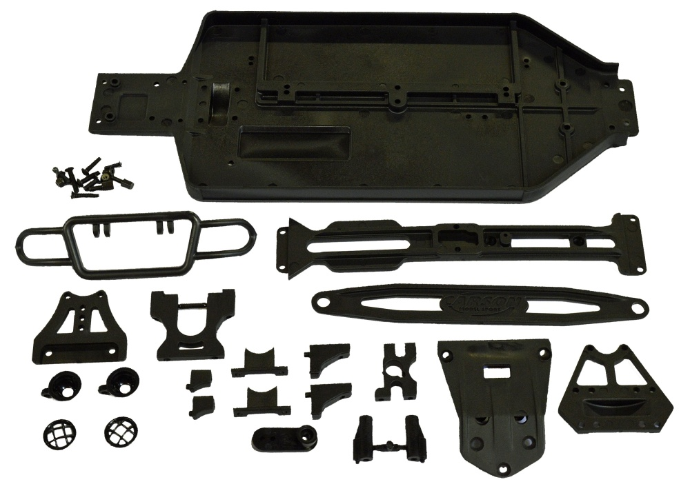 Carson X10ET Rock Warrior Chassis/Anbauteileset