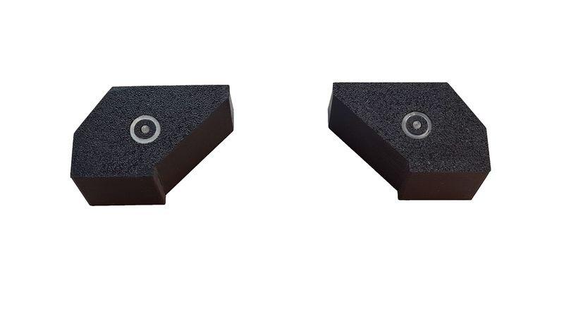 JS-Parts Heckleuchten für Arrma Felony für 5mm- LEDs