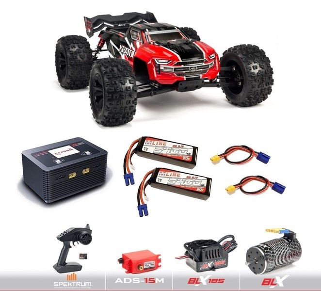 Arrma 1/8 KRATON V4 6S BLX 4WD Brushless Speed Monster Truck