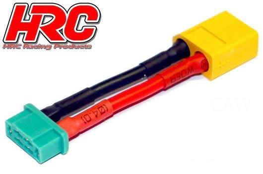 HRC Racing Adapter -  MPX Stecker zu XT60 Akku Stecker