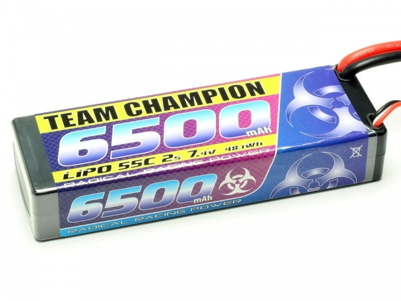 Pichler LiPo Akku TEAM CHAMPION 6500 - 7,4V - 55C - 2S