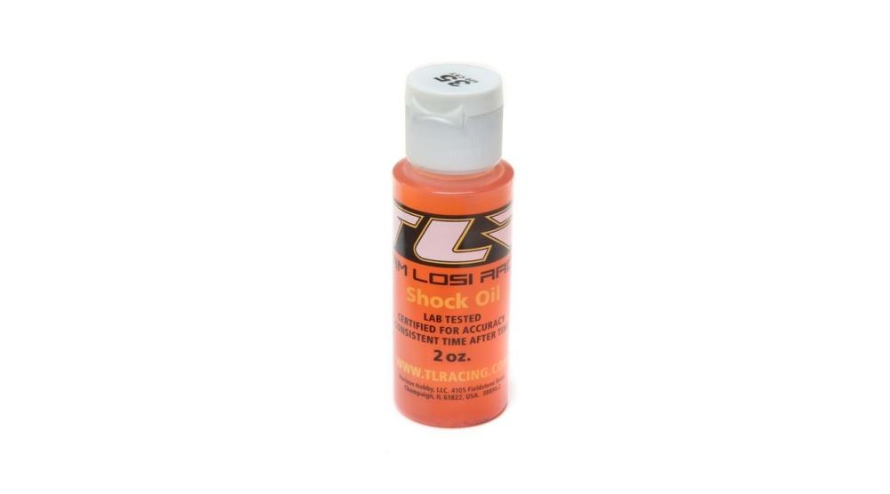 Losi Silikon Dämpferöl, 35wt, 2oz (TLR74008)