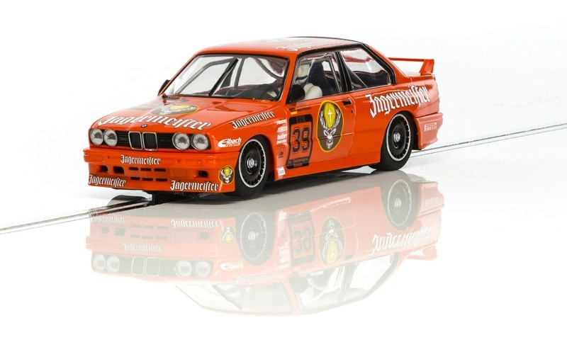 Scalextric BMW M3 E30 DTM Jägermeister HD