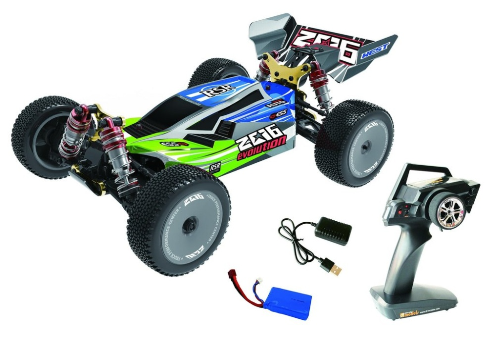 DF-Models Z06 - Evolution - 1:14 - RTR 4WD Race Buggy 2.4GHz