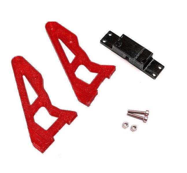 JS-Parts ultraflex Spoilerhalter rot für