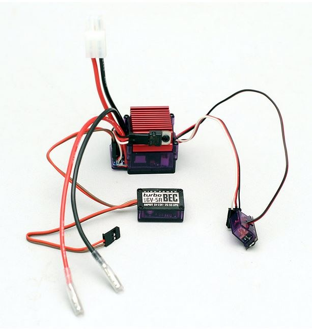 RC4WD Outcry Crawler Speed Controller ESC m.TURBOBEC