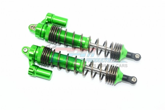 GPM aluminum rear L-Shape spring damper (139mm) - 2PC SET