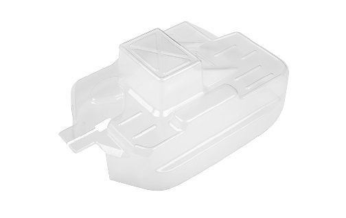 Team Corally - Chassis Cover - Polycarbonate - Clear - Cut