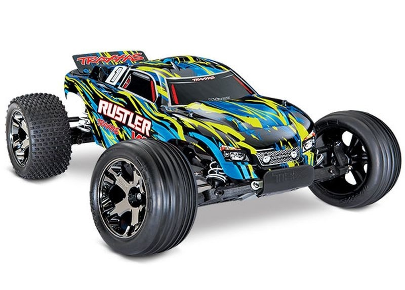 Traxxas Rustler VXL 2WD Stadium Truck Brushless TQi 2.4GHz