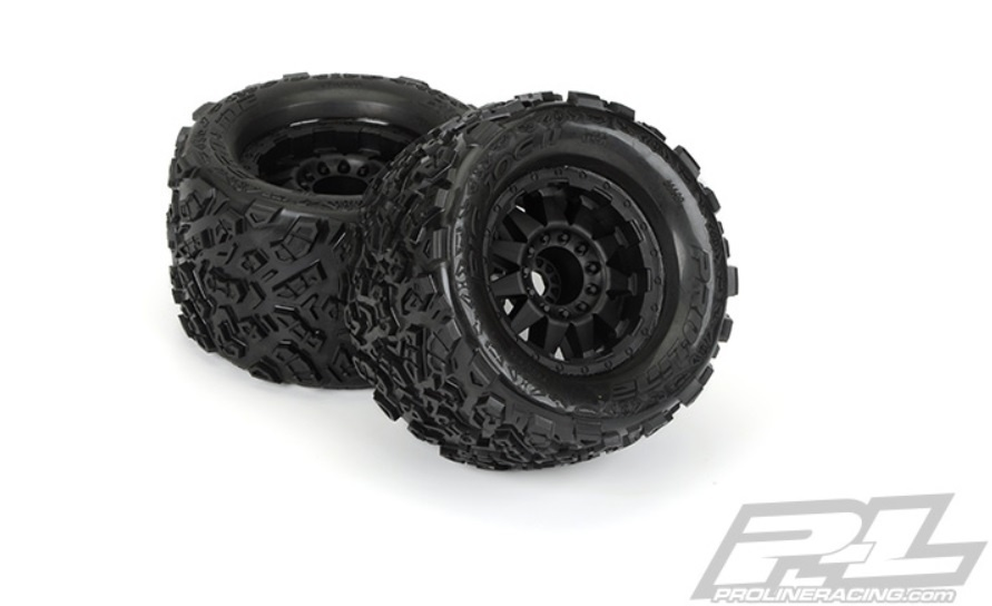 Pro-Line Big Joe II 3.8 All Terrain Reifen+Felgen verklebt