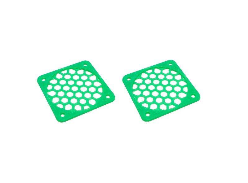 JS-Parts Lüftergitter 40mm / 2 Stück (Set) grün