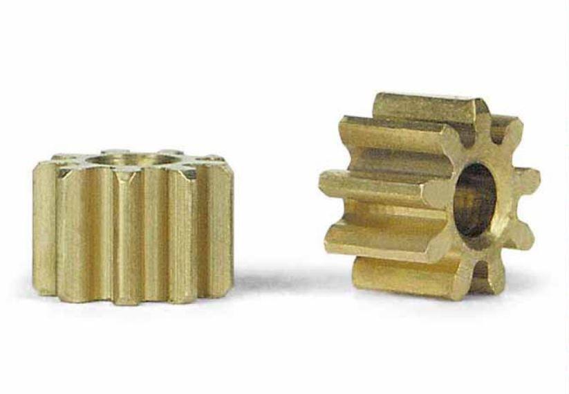 2x Slot.It Motorritzel PAS 5,5mm 9 Zähne für 2,00mm, inline
