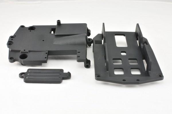 CEN Elektronikplatte und Akkuhalterung