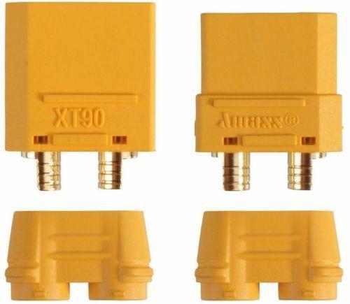 XT90 Stecker & Buchse inkl. Kappen, 1 Paar