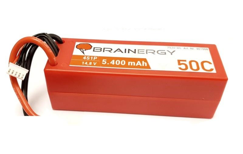 YUKI BRAINERGY LiPo 4s1p 14,8V 5.200mAh 45C T-Plug
