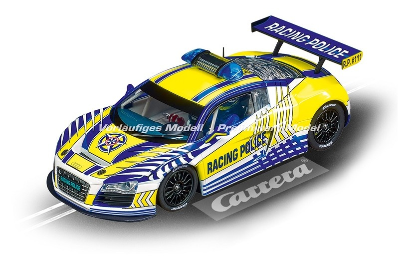 Carrera Digital 124 Audi R8 LMS Carrera Racing Police