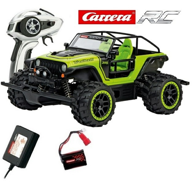 Carrera RC Profi JEEP Trailcat 4WD 2.4GHz RTR 1:18