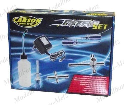 Carson Nitro-Set Glühstarter 2500mAh + Zubehör