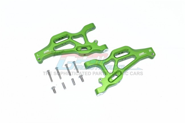 GPM ALUMINUM FRONT LOWER ARMS -10PC SET for Arrma