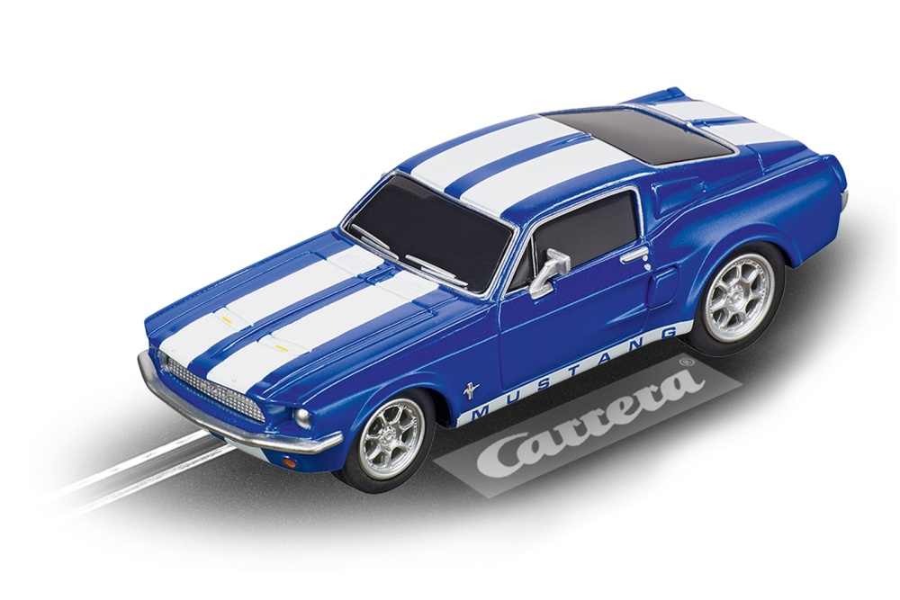 Carrera Go!!! Ford Mustang 67 - Racing Blue