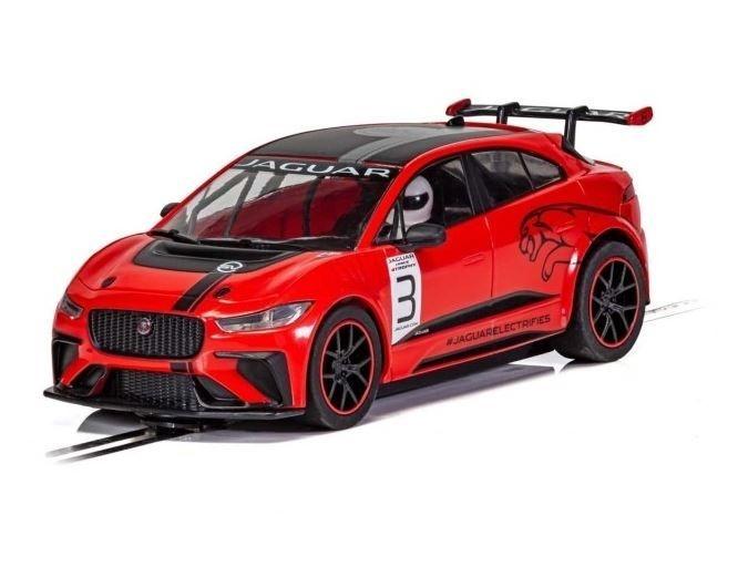 Scalextric 1:32 Jaguar I-Pace Rot HD