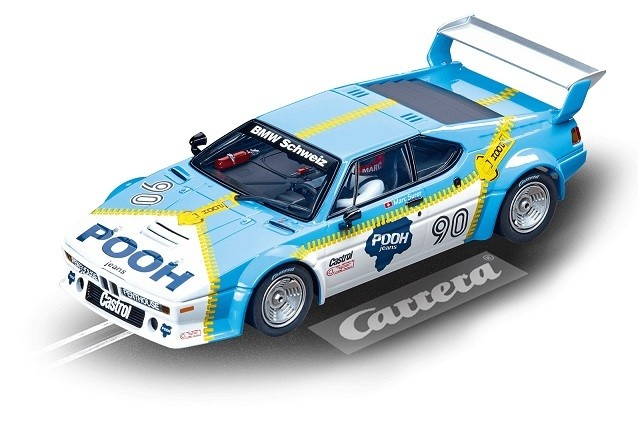 Carrera Digital 132 BMW M1 Procar Sauber Racing, No.90,