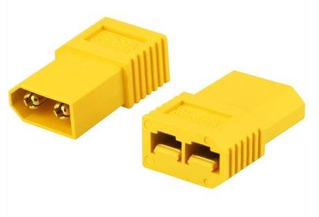 Adapter XT60-X  XT60Stecker <=>TRAXXAS Buchse Bulk