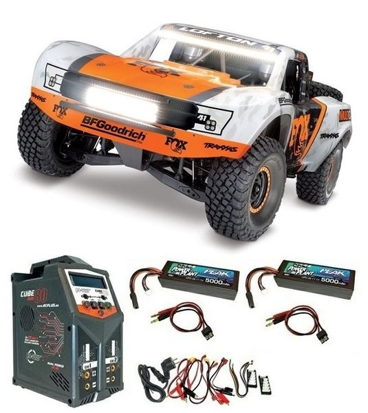 Traxxas Unlimited Desert Racer 4x4 VXL Fox-Edition 4WD Pro-