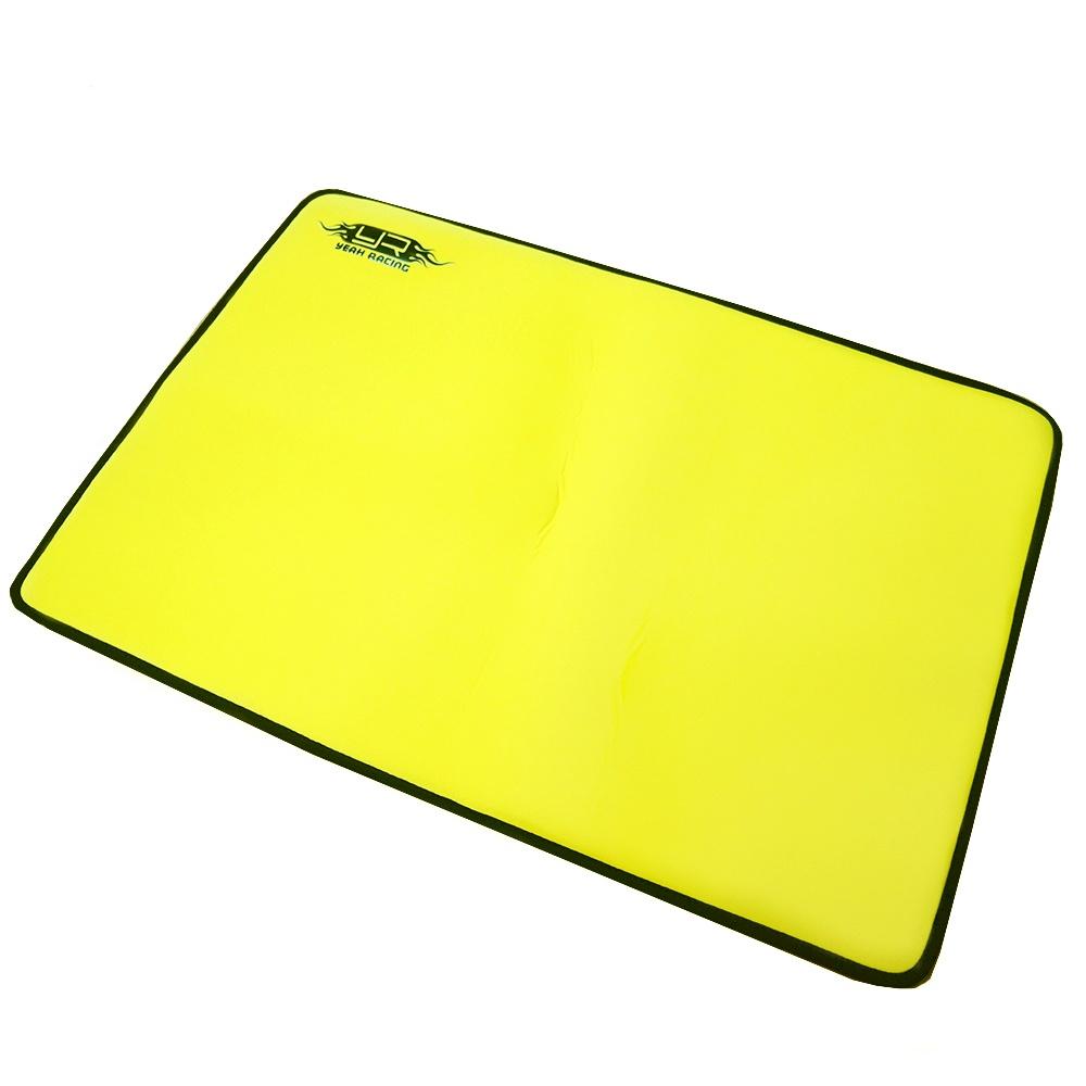 Yeah Racing RC Pit Mat Yellow 62cm X 42cm (#YA-0521)
