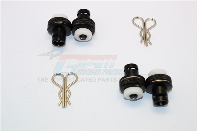 GPM aluminium front & rear magnetic body mount- 1Set for