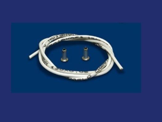NSR Silikon Motorkabel + 10 Brass Cups 0,25 qmm, 1m