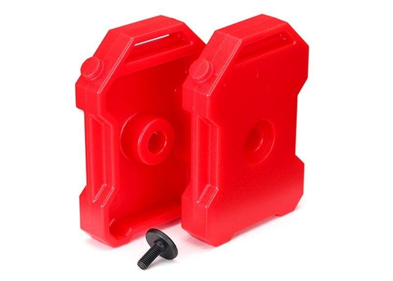 Traxxas Benzin-Kanister (rot) (2)/ 3x8 FCS (1) TRAXXAS TRX-4