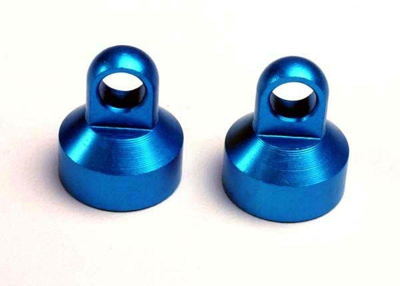 Traxxas Dämpferkappe blau (2)