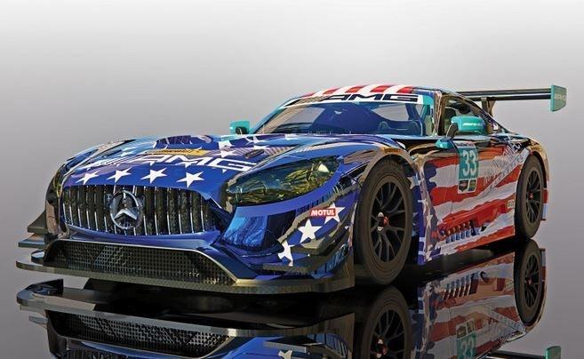 Scalextric 1:32 Mercedes AMG GT3 #33 Riley MspT HD