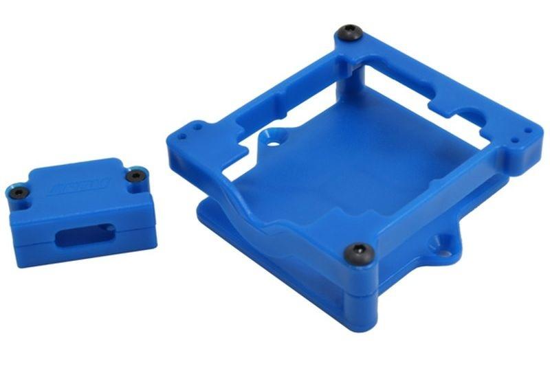 RPM Spezial-Regler-Halterung blau für TRX Slash 2WD+4x4