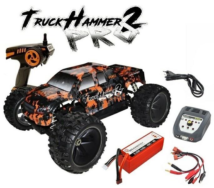 DF-Models TruckHammer PRO2 4WD Brushless 2.4GHz