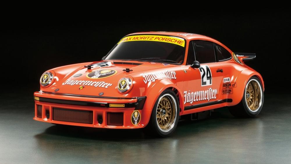 Tamiya RC Porsche 934 JägermeisterTA-02SW Bausatz 1:10
