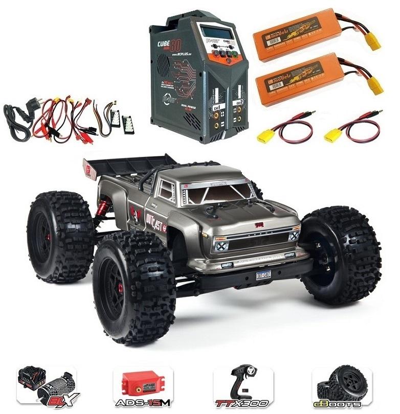 Arrma RC Outcast 6s BLX 4WDSt.Truck 2.4GHz RTR 1:8-SPARSET6-