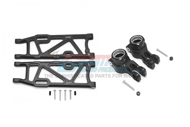 GPM aluminum rear lower arms + rear knuckle arms - 14PC Set