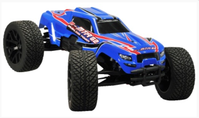 Thunder Tiger e-MTA G2 Monstertruck blau BL 2.4GHz FS RTR