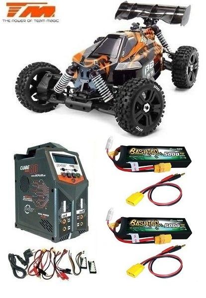 Team Magic B8ER 4WD Electric Buggy 6S BL Orange/Schwarz