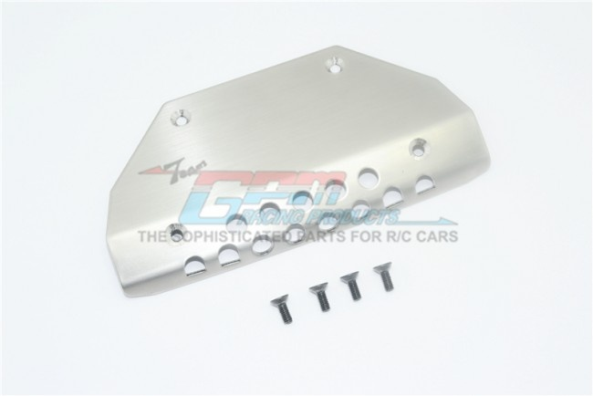 GPM stainless steel front skid plate - 5PC SET